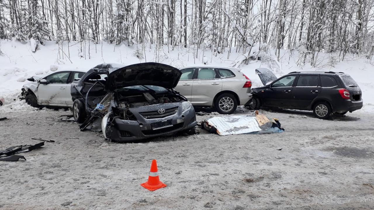 Смертельное ДТП на трассе Пермь-Березники